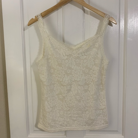 Faded Glory Tops - Faded Glory lace tank top